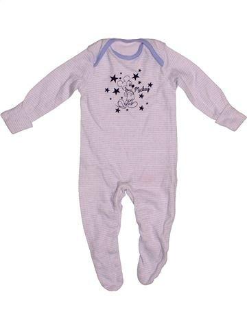 Pijama de 1 pieza niño DISNEY blanco 1 mes verano #1542101_1