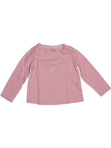 Camiseta de manga larga niña VERTBAUDET rosa 3 años invierno #1542615_1