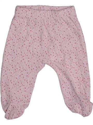 Pantalon fille VERTBAUDET gris 6 mois hiver #1542786_1
