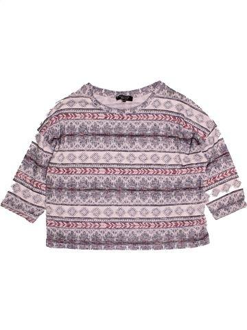 T-shirt manches courtes fille NEW LOOK violet 13 ans été #1543013_1