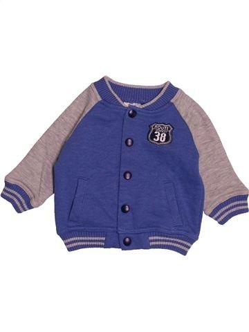 Sudadera niño F&F azul 3 meses invierno #1543036_1