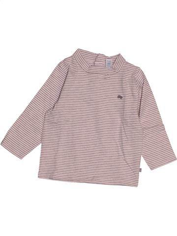 Camiseta de manga larga niño OKAIDI rosa 12 meses invierno #1543092_1
