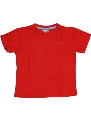 T-shirt manches courtes garçon ORCHESTRA rouge 4 ans été #1543529_1