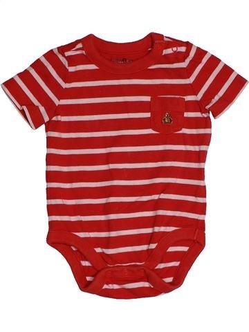 T-shirt manches courtes garçon GAP rose 3 mois été #1543549_1
