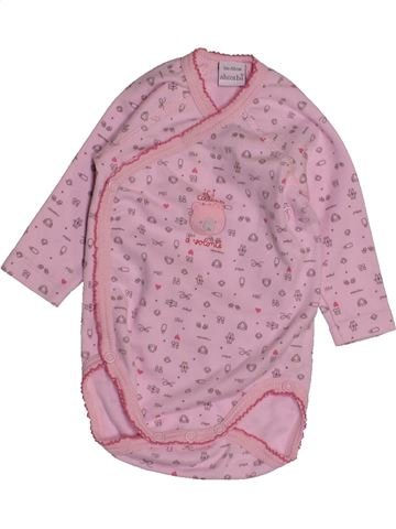 T-shirt manches longues fille ABSORBA rose 3 mois hiver #1543599_1
