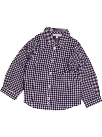 Camisa de manga larga niño JACADI violeta 2 años invierno #1543804_1