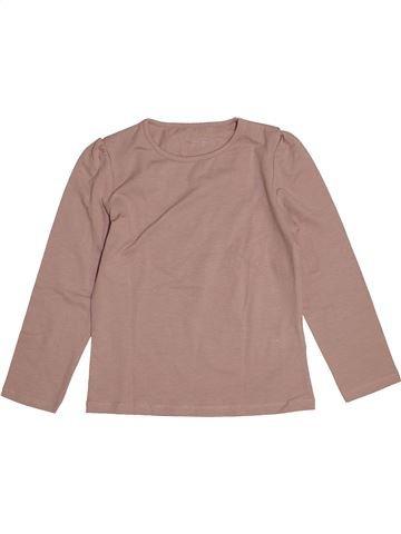 Camiseta de manga larga niña VERTBAUDET rosa 6 años invierno #1543813_1