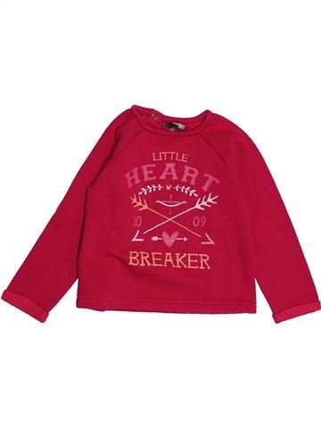 Sweat fille ORCHESTRA rouge 4 ans hiver #1543936_1