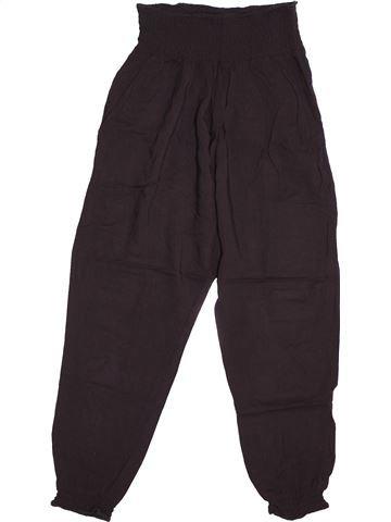 Pantalon fille H&M noir 11 ans été #1544447_1