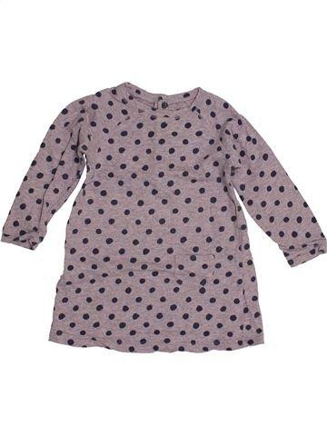 Robe fille BOUT'CHOU gris 18 mois hiver #1544543_1