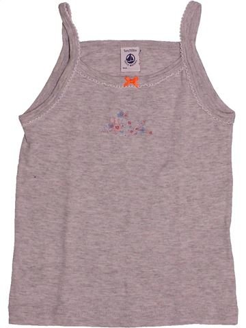 T-shirt sans manches fille PETIT BATEAU violet 5 ans été #1544592_1