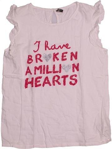 T-shirt sans manches fille TAPE À L'OEIL rose 14 ans été #1544728_1