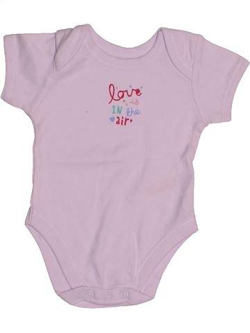 Camiseta de manga corta niña EARLY DAYS rosa 3 meses verano #1544970_1