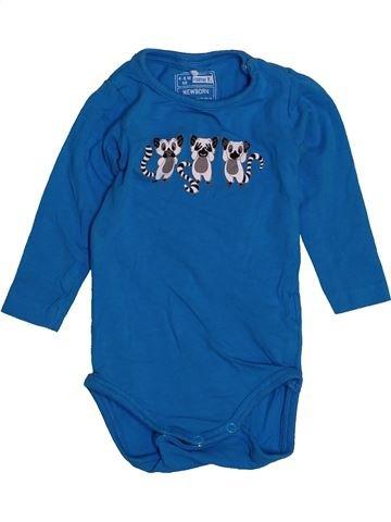 T-shirt manches longues garçon NAME IT bleu 6 mois hiver #1545913_1