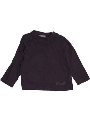 T-shirt manches longues garçon JBC noir 12 mois hiver #1545970_1