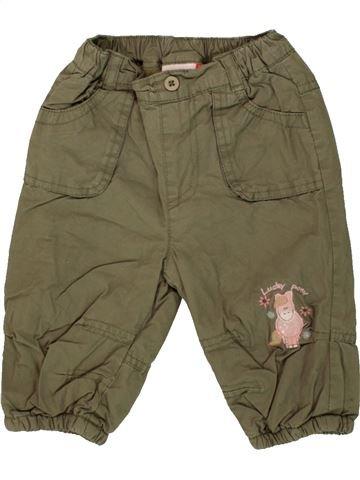 Pantalon fille BERTI marron 6 mois hiver #1546381_1