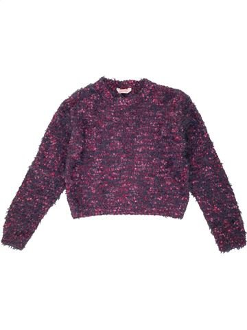 Pull fille PEACOCK'S violet 10 ans hiver #1546958_1