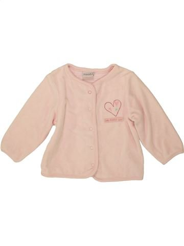 Gilet fille MINICLUB rose 9 mois hiver #1547405_1