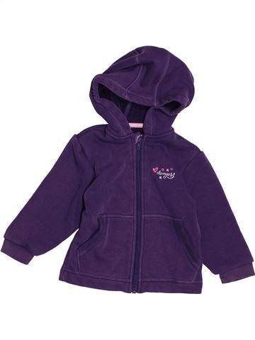 Sudadera niña DOMYOS violeta 3 años invierno #1548717_1