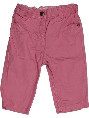 Pantalon fille TEX marron 6 mois hiver #1548957_1