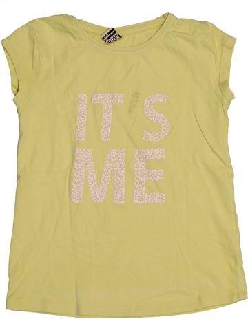 T-shirt manches courtes fille TAPE À L'OEIL vert 8 ans été #1549652_1