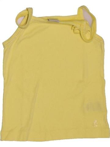T-shirt sans manches fille PETIT BATEAU vert 4 ans été #1550102_1