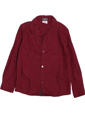 Chemise manches longues garçon TAPE À L'OEIL rouge 4 ans hiver #1550136_1