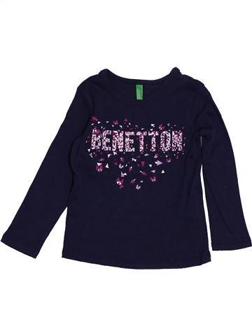 Camiseta de manga larga niño BENETTON negro 2 años invierno #1550498_1