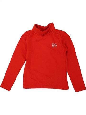 T-shirt col roulé fille JBC rouge 4 ans hiver #1550809_1
