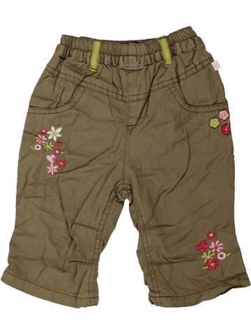 Pantalon fille OKAY marron 6 mois hiver #1550836_1