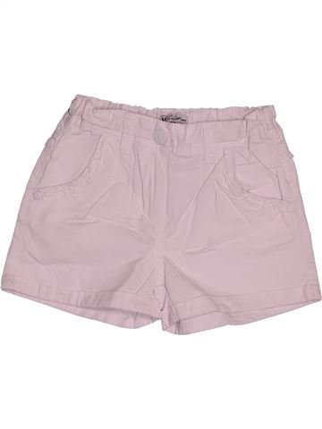 Short - Bermuda fille U COLLECTION rose 5 ans été #1551058_1