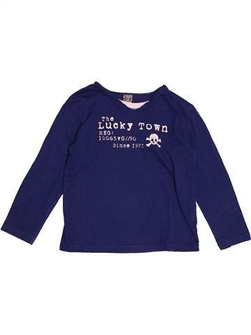 T-shirt manches longues garçon TAPE À L'OEIL bleu 5 ans hiver #1551164_1