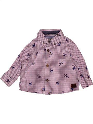 Chemise manches longues garçon MONSOON violet 6 mois hiver #1551795_1
