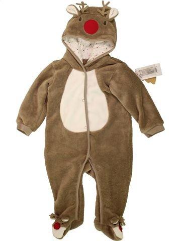 Robe de chambre garçon MATALAN marron 9 mois hiver #1553011_1
