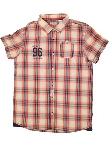 Chemise manches courtes garçon OKAIDI rose 12 ans été #1553519_1