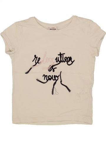 T-shirt manches courtes fille TAPE À L'OEIL bleu 3 ans été #1553891_1