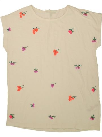 T-shirt manches courtes fille BHS beige 13 ans été #1554785_1