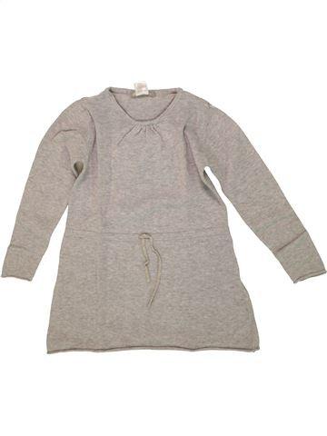 Vestido niña LA REDOUTE CRÉATION gris 5 años invierno #1556475_1