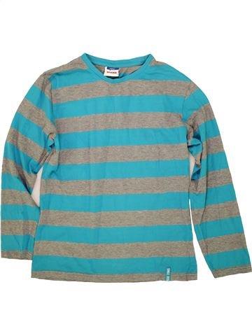 T-shirt manches longues garçon YIGGA bleu 14 ans hiver #1556556_1