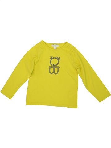 T-shirt manches longues fille OKAIDI vert 3 ans hiver #1556580_1