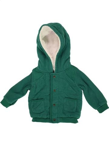 Gilet garçon M&CO vert 6 mois hiver #1556757_1