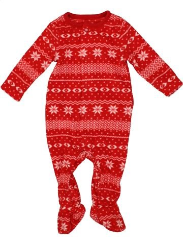 Robe de chambre fille F&F rouge 3 mois hiver #1556806_1