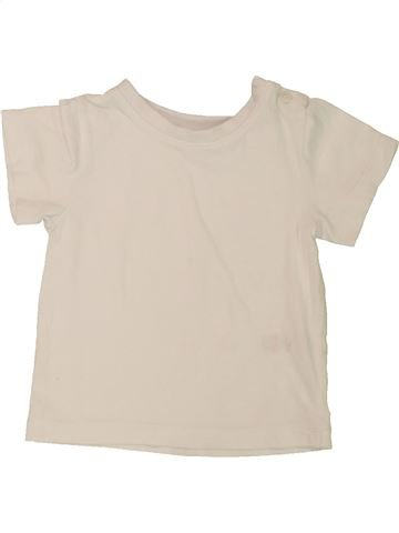 T-shirt manches courtes garçon M&CO bleu 12 mois été #1557188_1