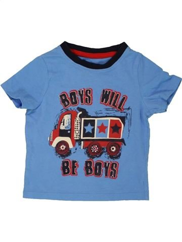 Camiseta de manga corta niño PEP&CO azul 12 meses verano #1557344_1