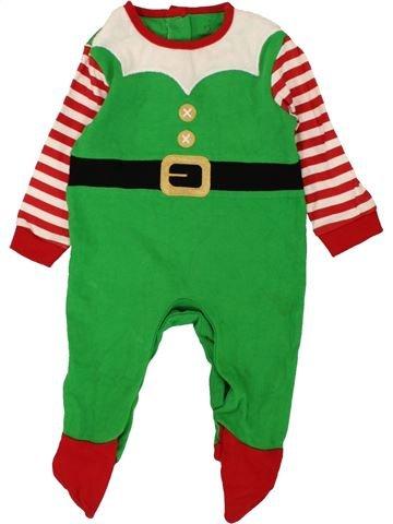 Pijama de 1 pieza niño EARLY DAYS verde 6 meses invierno #1557351_1