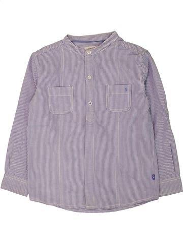 Chemise manches longues garçon OKAIDI gris 5 ans hiver #1557514_1