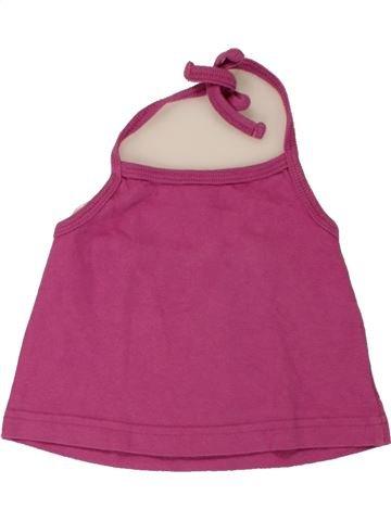 T-shirt sans manches fille VYNIL FRAISE rose 2 ans été #1557519_1