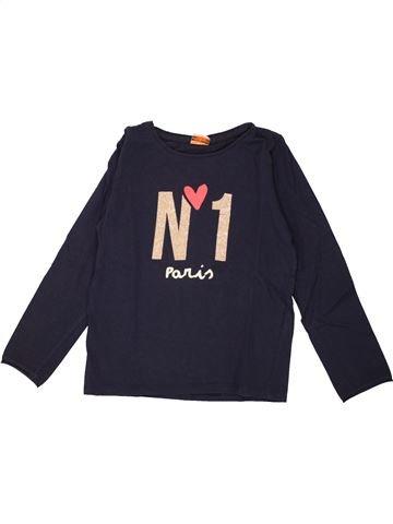T-shirt manches longues fille TAPE À L'OEIL noir 8 ans hiver #1557568_1