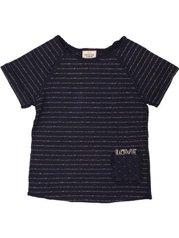 T-shirt manches courtes fille TAPE À L'OEIL noir 2 ans été #1557660_1