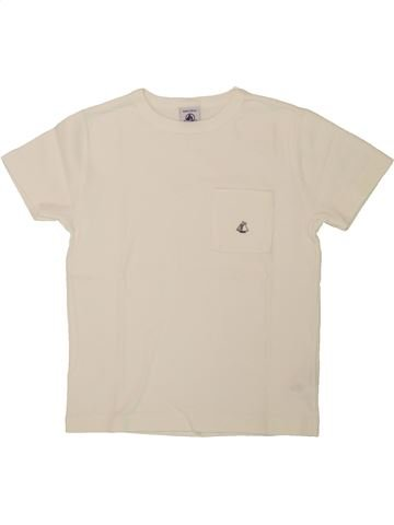 T-shirt manches courtes garçon PETIT BATEAU bleu 6 ans été #1557926_1